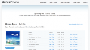 Apple launches iTunes preview