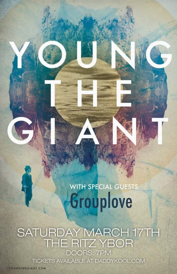 Young The Giant Tour Poster