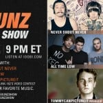 All Time Low, Never Shout Never, and tommycanpictureit on The Gunz Show June 13