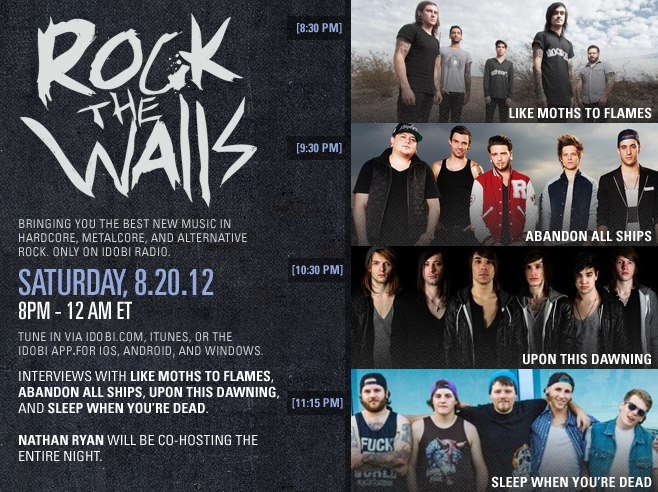 Rock The Walls Oct. 20