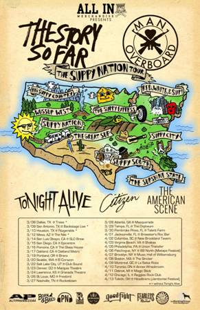 Suppy Nation Tour Poster