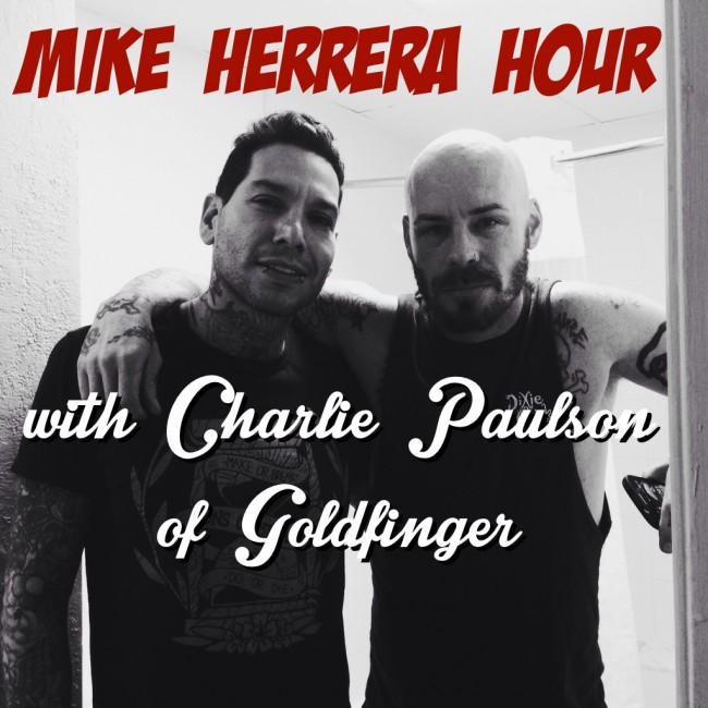 Mike Herrera with Charlie Paulson