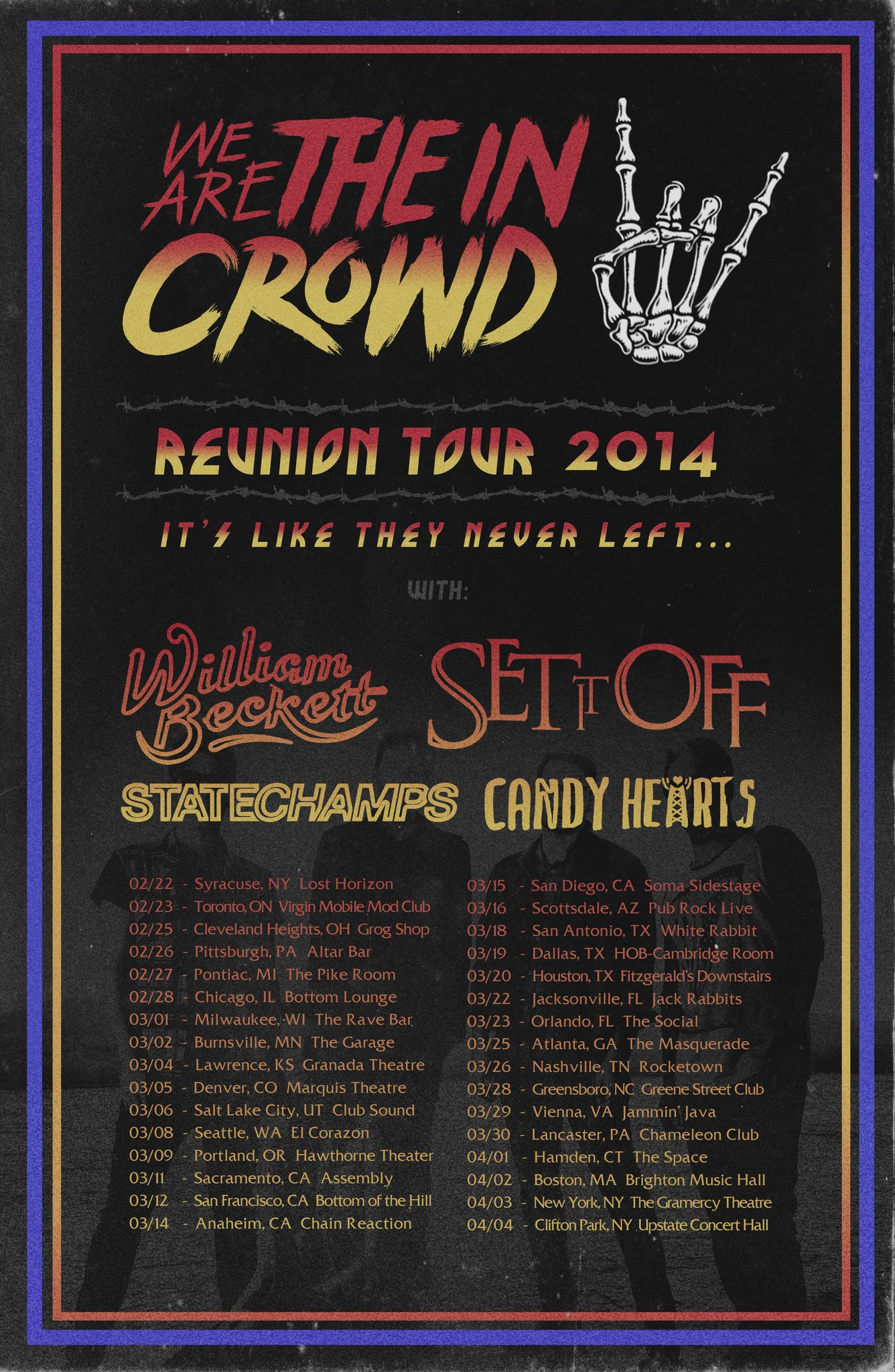 We Are The In Crowd 2013