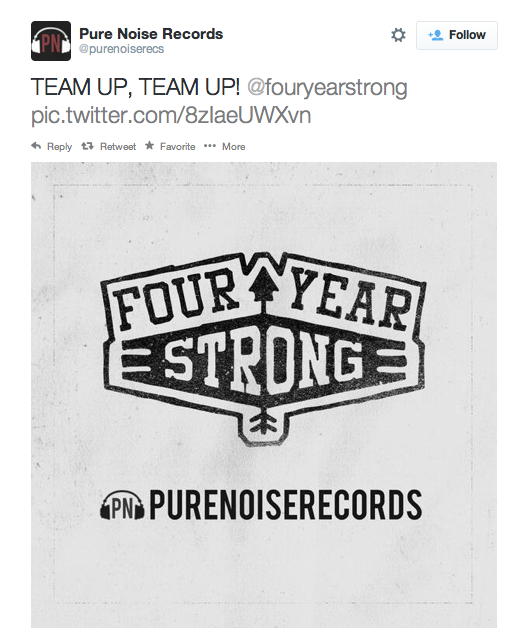 four year strong screenshot