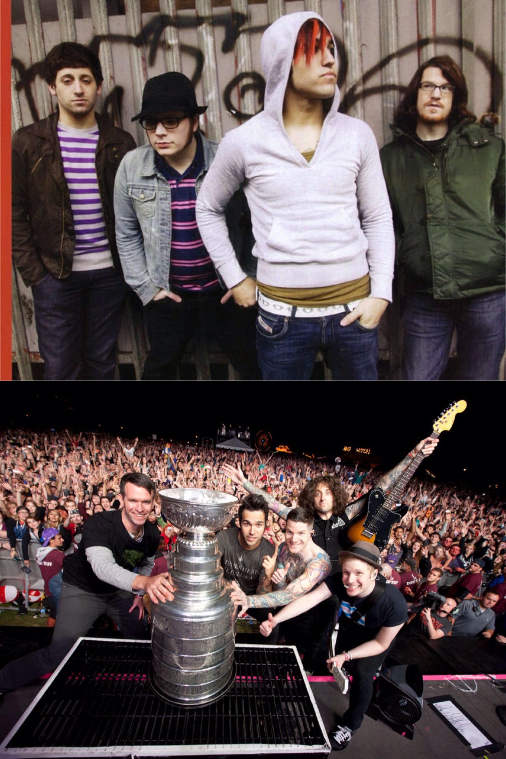 "Remember when Fall Out Boy ""sold out"" by making music that people enjoyed?"