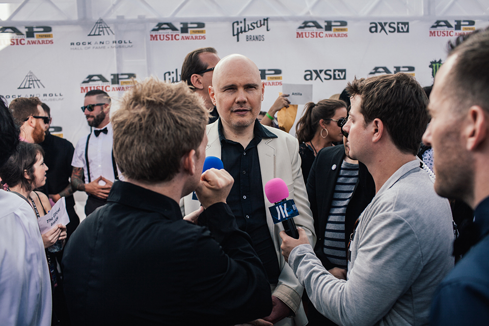 Billy Corgan on the idobi broadcast