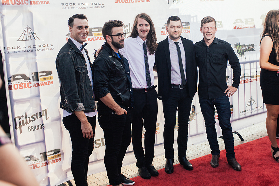 Mayday Parade looking sharp as always