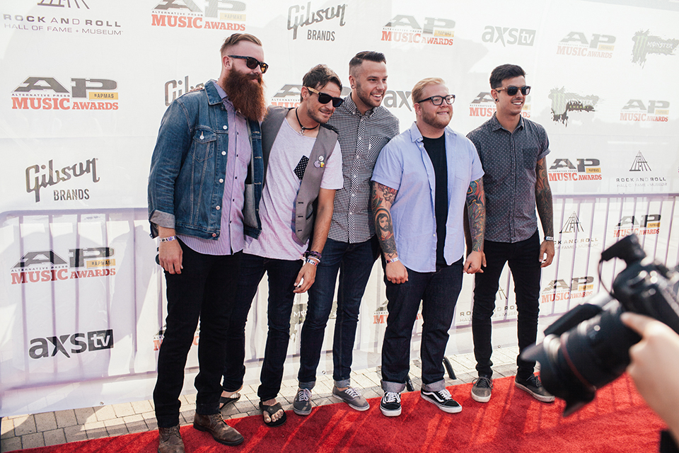 The Color Morale. Looking good, boys.