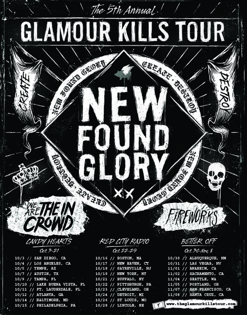 glamour kills tour 2014