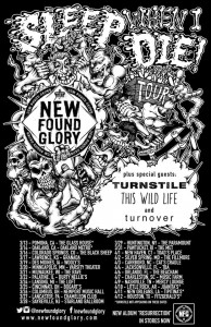 new found glory tour