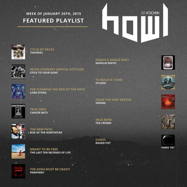 012615 HOWL weekly-playlists