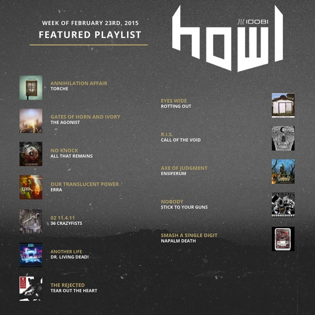 022415 HOWL PLAYLIST