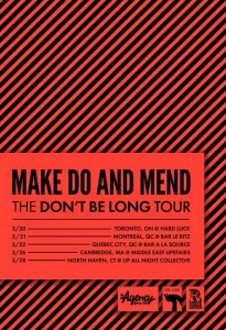 make do and mend tour 2015