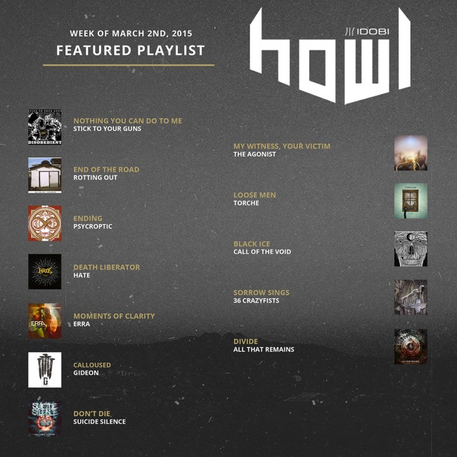 030215 HOWL PLAYLIST