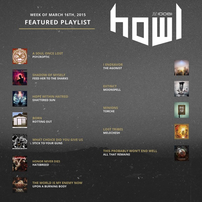 031615 HOWL PLAYLIST