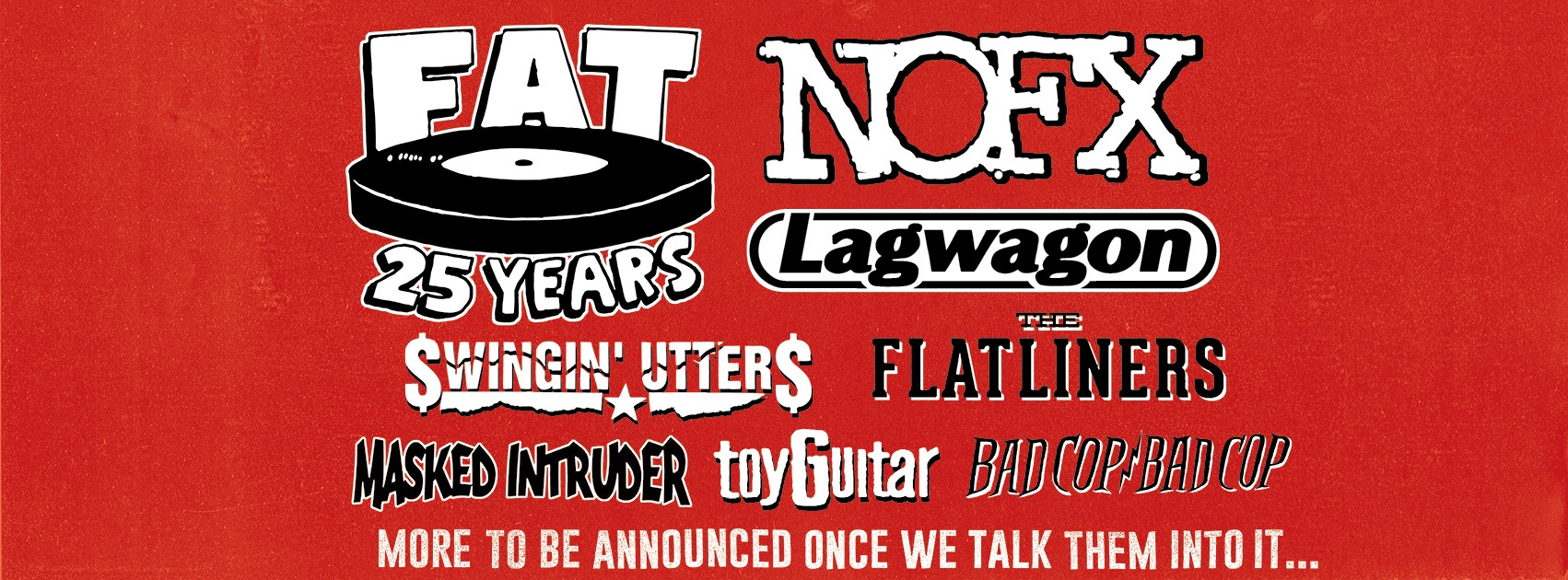 Fat Wreck Chords Announces 25th Anniversary Tour : idobi