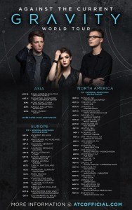 against the current world tour 2015