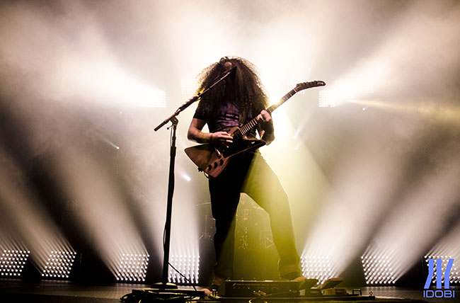 Coheed & Cambria March 4th, 2016 at The Theater at MSG for idobi Radio