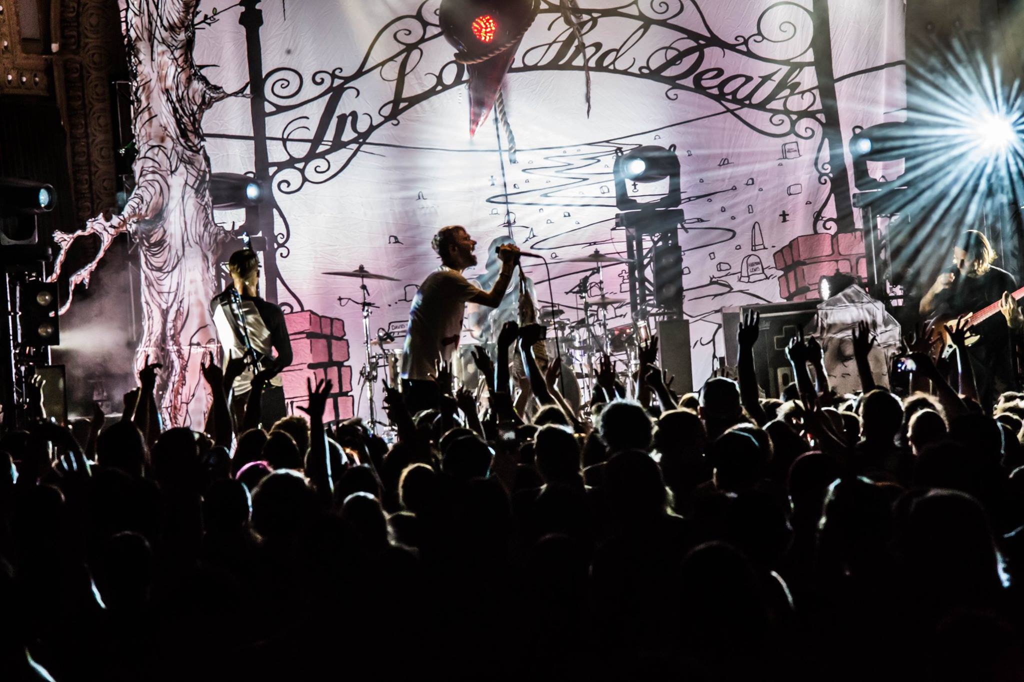 The Used at the Crystal Ballroom in Portland. Credit: Bright Music Photography