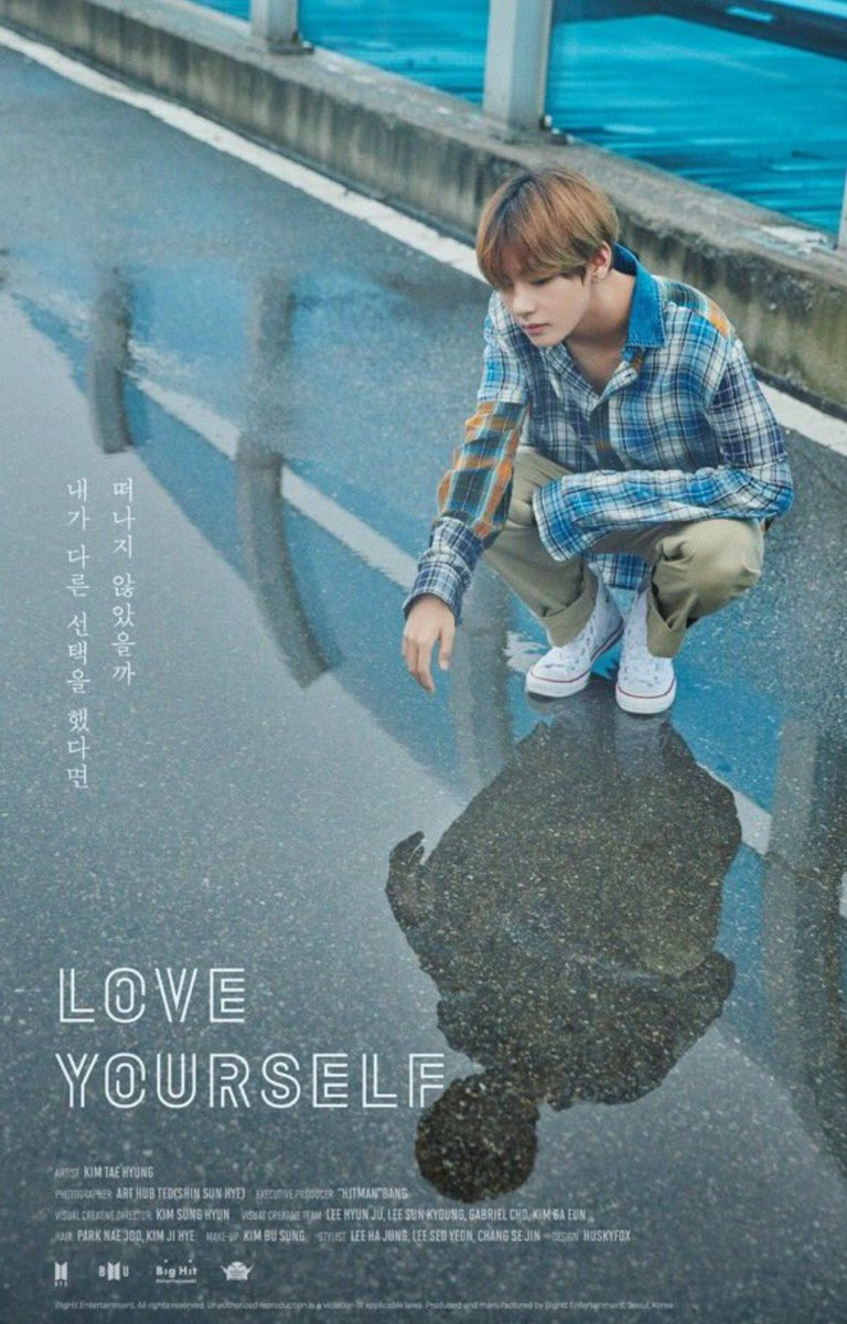 See All 7 Bts Teaser Posters For The Love Yourself Series And Our