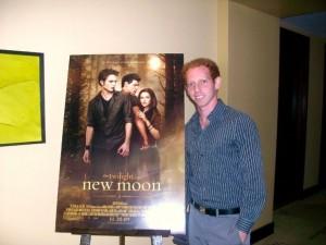 Sam at Twilight Press Junket