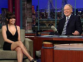 Nicole Richie on 'The Late Show'