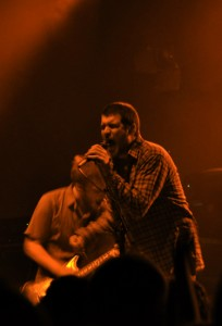 Jesse Lacey and Kevin Devine