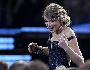 Taylor Swift at Grammy Awards
