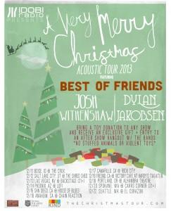 christmas tour poster TEXT