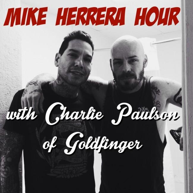Mike Herrera with Charlie Paulson