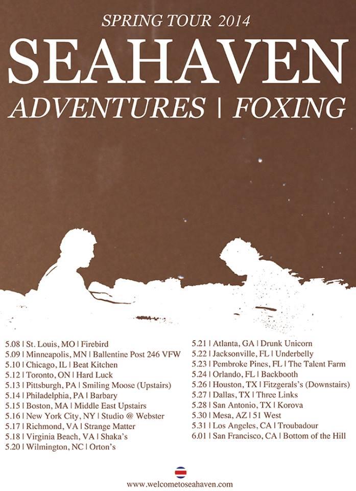 seahaven - Tour Poster