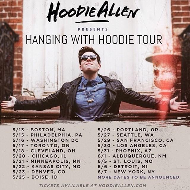 hoodie allen tour