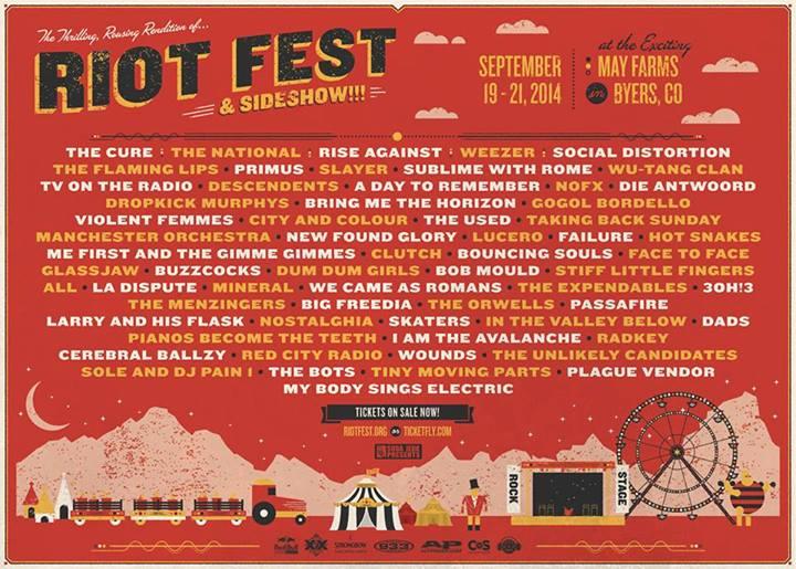 Riot Fest Denver 2014