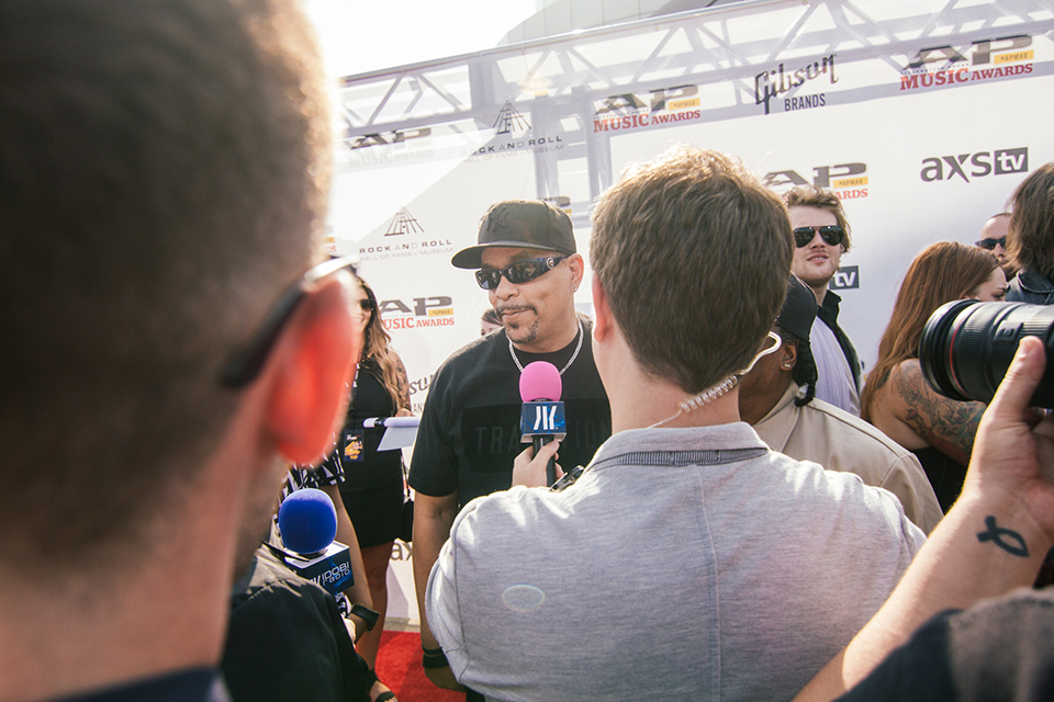 We even talked to Ice-T!