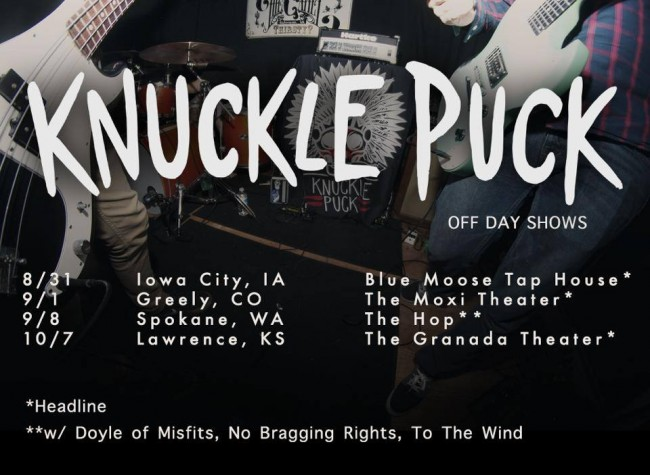 knuckle puck shows