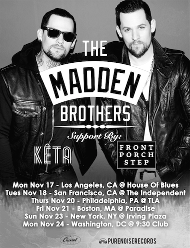 Madden Brother tours