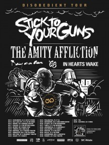 disobedient stick to your guns tour