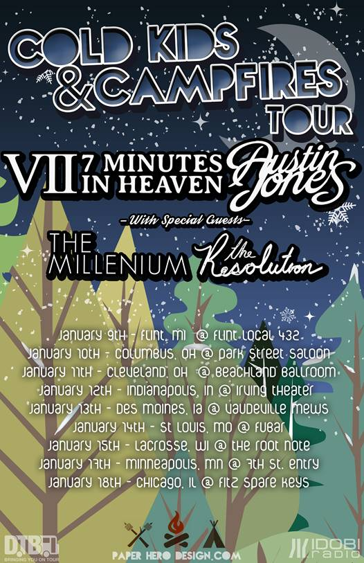 Cold Kids & Campfires Tour
