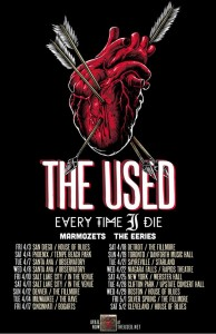 the used tour every time i die