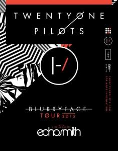 twenty one pilots tour 2015