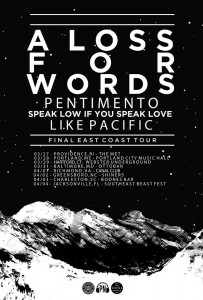 a loss for words tour