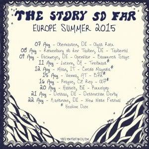 The story So far euro tour