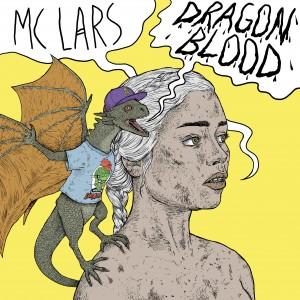 MC Lars Dragon Blood single art