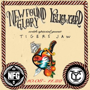 yellow card new found glory tour