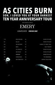 As Cities Burn tour 2015