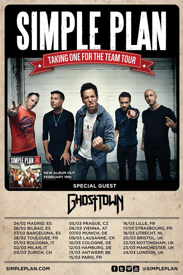 Simple Plan World Tour
