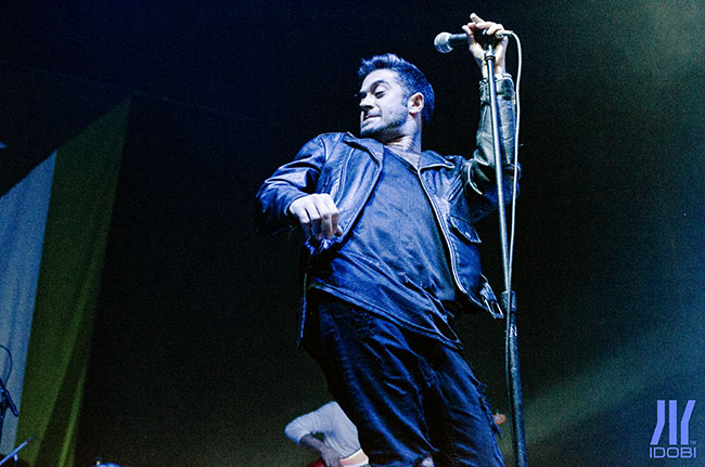 glassjaw March 4th, 2016 at The Theater at MSG for idobi Radio