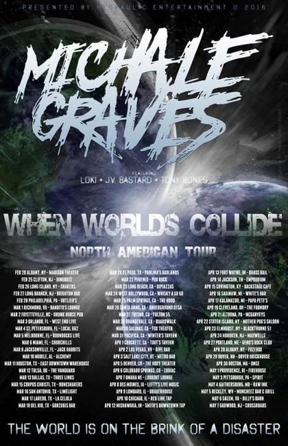 michale graves tour