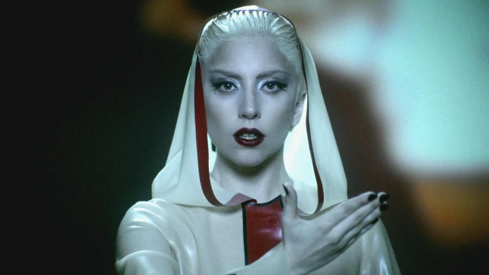 Lady gaga marry the night live grammy awards 2012 american idol ellen x factor americas got talent - 1 9
