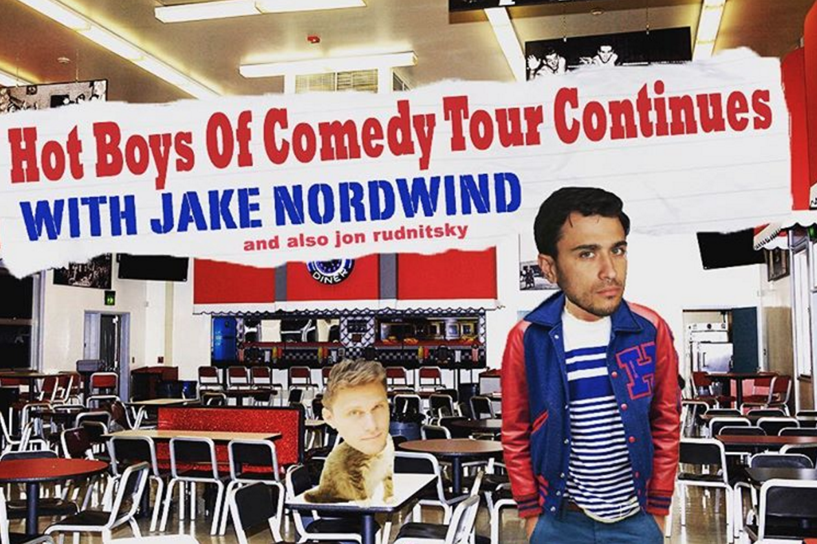 (Unofficial) tour flyer for their current standup tour together. Credit: Instagram